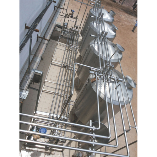 CIP Systems Milk Processing Plants