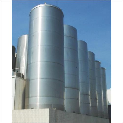 Silo Tank For Raw Pasteurized Milk Storage