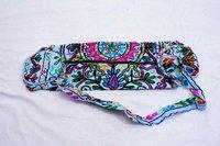 Handmade Indian Floral Yoga Mat Bag