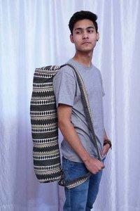 Embroidered Jacquard Yoga Mat Bag