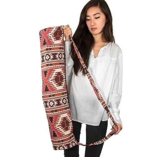 Handmade Zipper Yoga Shoulder Bag