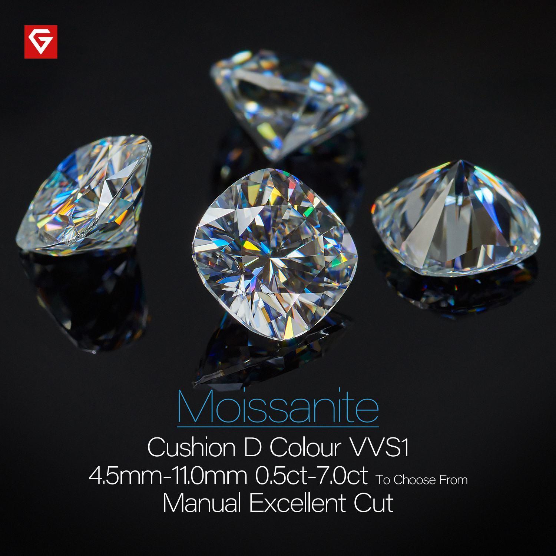 Synthetic Morsonite  D Color  Fancy Cut