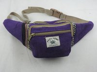 Purple Himalayan Color Full Waist Belt