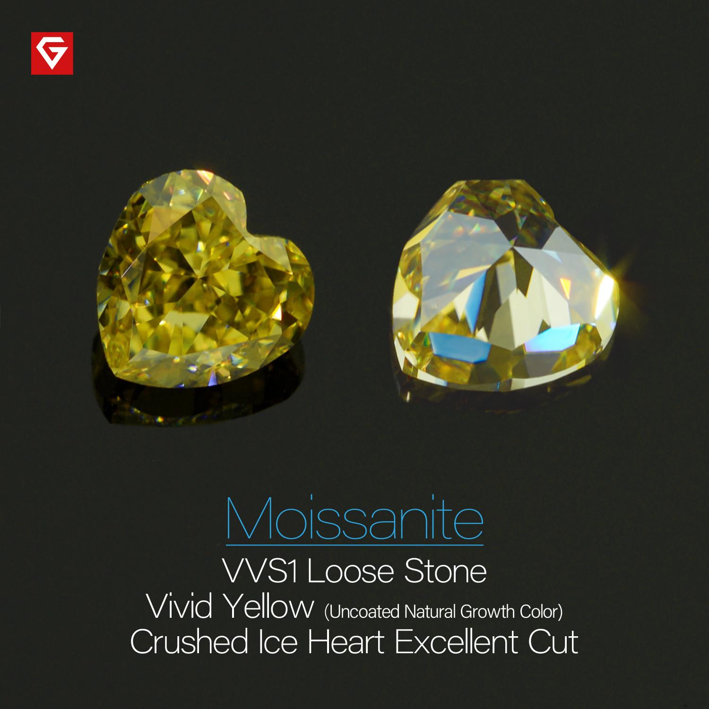 Vivid Yellow Color Morsonite