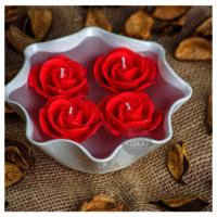 Rose Medium-Red,Tea Rose pack of 5