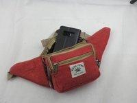 Blood Moon Red Multi Pocket Waist / Money Belt