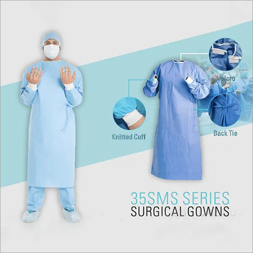35gm SMS Material Isolation Gown
