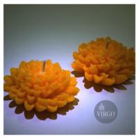 Dahlia-Orange, Orange 2 pieces