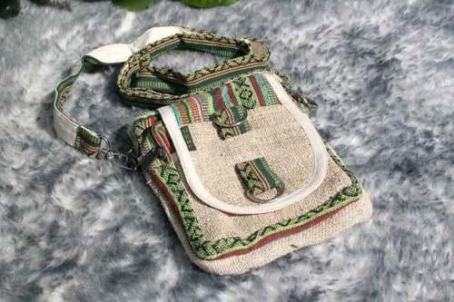 Organic Natural Color Passport Bag