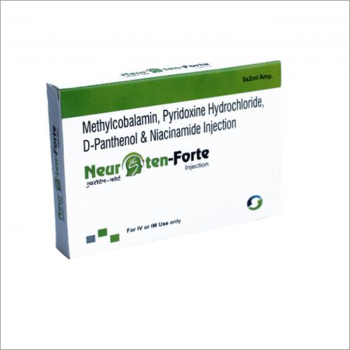 Methylcobalamin Pyridoxine Hydrochloride D-Panthenol And Niacinanide Injection