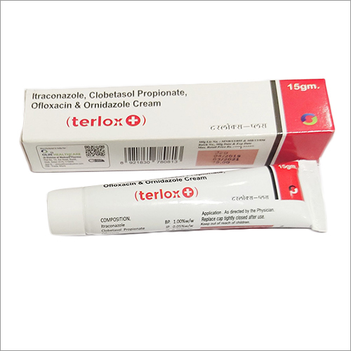 Itraconazole Clobetasol Propionate Ofloxacin And Ornidazole Cream