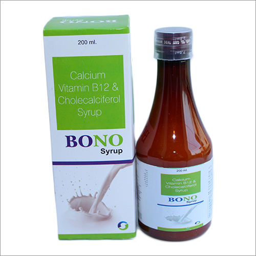 Calcium Vitamin B12 And Cholecalciferol Syrup