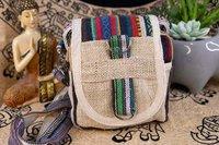 Natural Shoulder Travel Passport Bag
