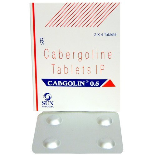 Cabgolin 0.5 Tablet(CABERGOLINE 0.5 MG)