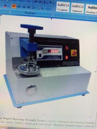 Digital Bursting strength tester