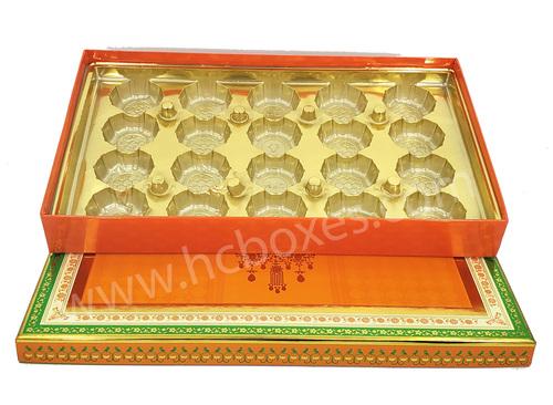 Spl Laddu Box Covered 12 Pc, 20 Pc