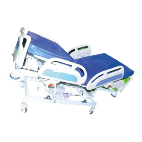 Five Functional Electric Fully Motorized Column Actuator Super Deluxe ICU Bed