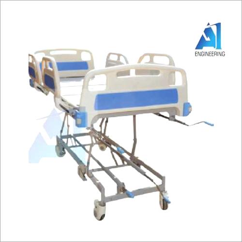 Five Functional Manual Super Deluxe ICU Bed
