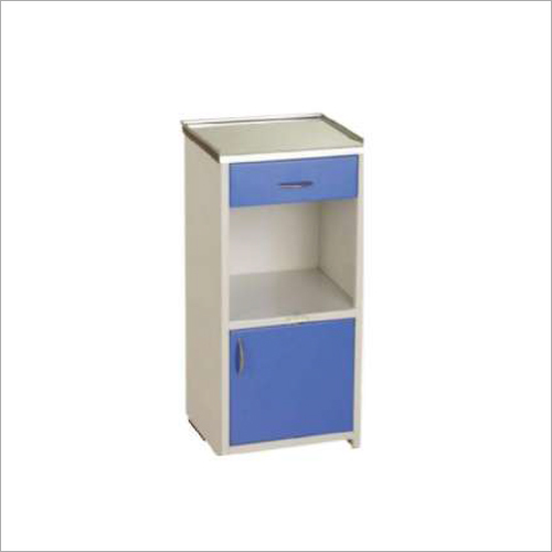 Deluxe Bed Side Locker With SS CRC Top
