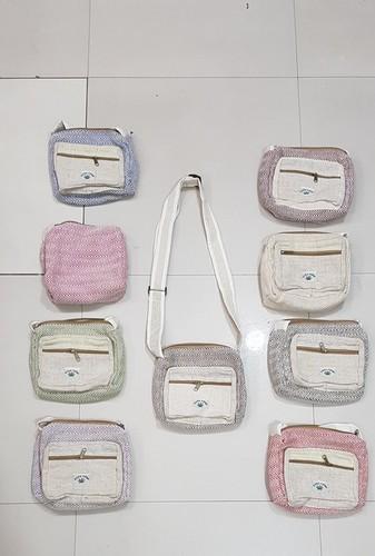 Organic Passport Shoulder Bag
