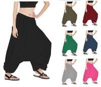 Alibaba Gypsy Hippie Aladdin Baggy Genie Men Women Harem Pants