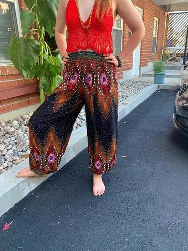 Black Genie Harem Pants