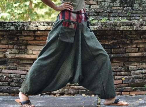 Plain Nepali Harem Yoga Pants