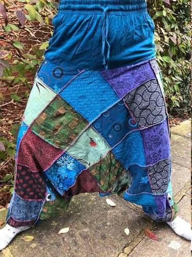 Unisex Vintage Hippy Boho Aladdin Harem Yoga Pants