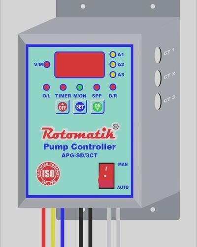 Rotomatik Pump Protection Relays with Auto start with 3CT