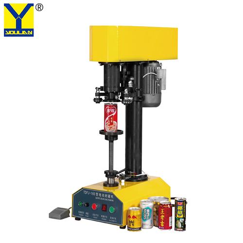 TDFJ-160 Desktop Manual Can Seamer Food Tin Can Lid Sealer Sealing Machine