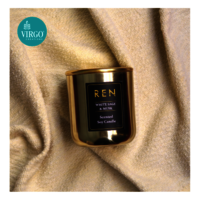 Ren:scented Soy Wax Candle, White Sage & Musk