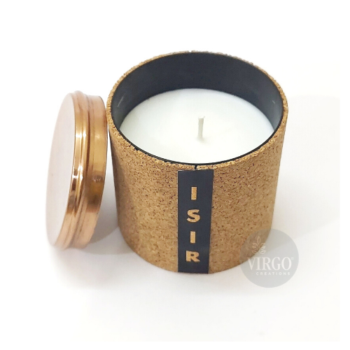 Isir:scented Soy Wax Candle, Grapefruit, Bergamont