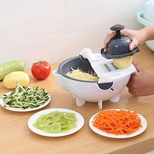 9 In 1 Multi Function Rotate Vegetable Cutter
