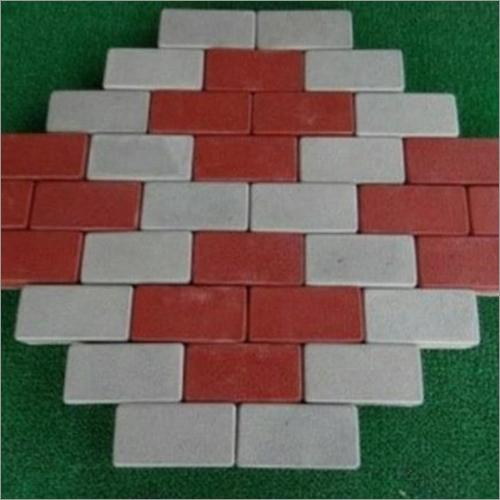60MM Rectangle Interlocking Tile