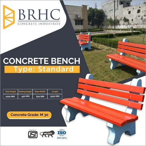 Two Seater Concrete Garden Bench