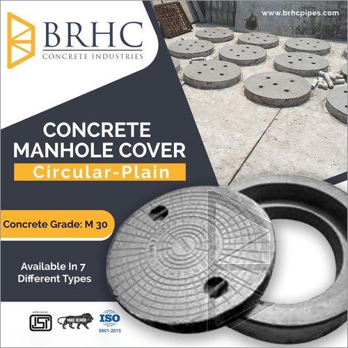Extra Heavy Duty Manhole Cover With Frame