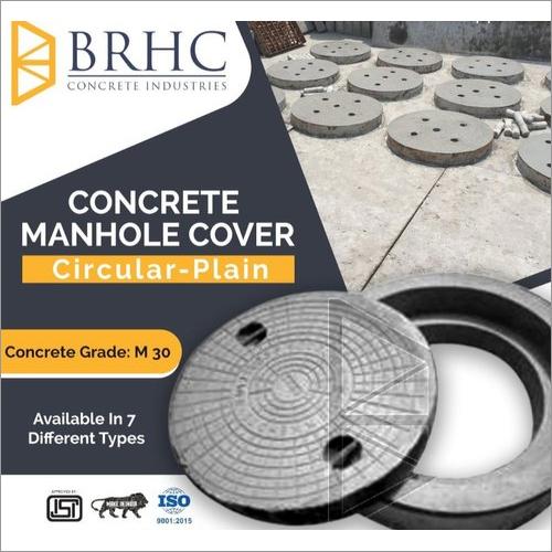SFRC 560 mm Dia HD 20 Manhole Cover with Frame