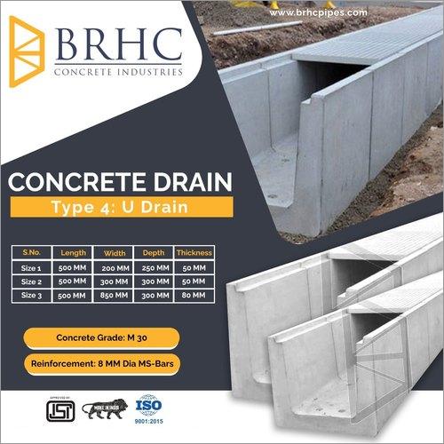Concrete U Drain