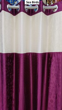 Long Crush With Puntching Curtain