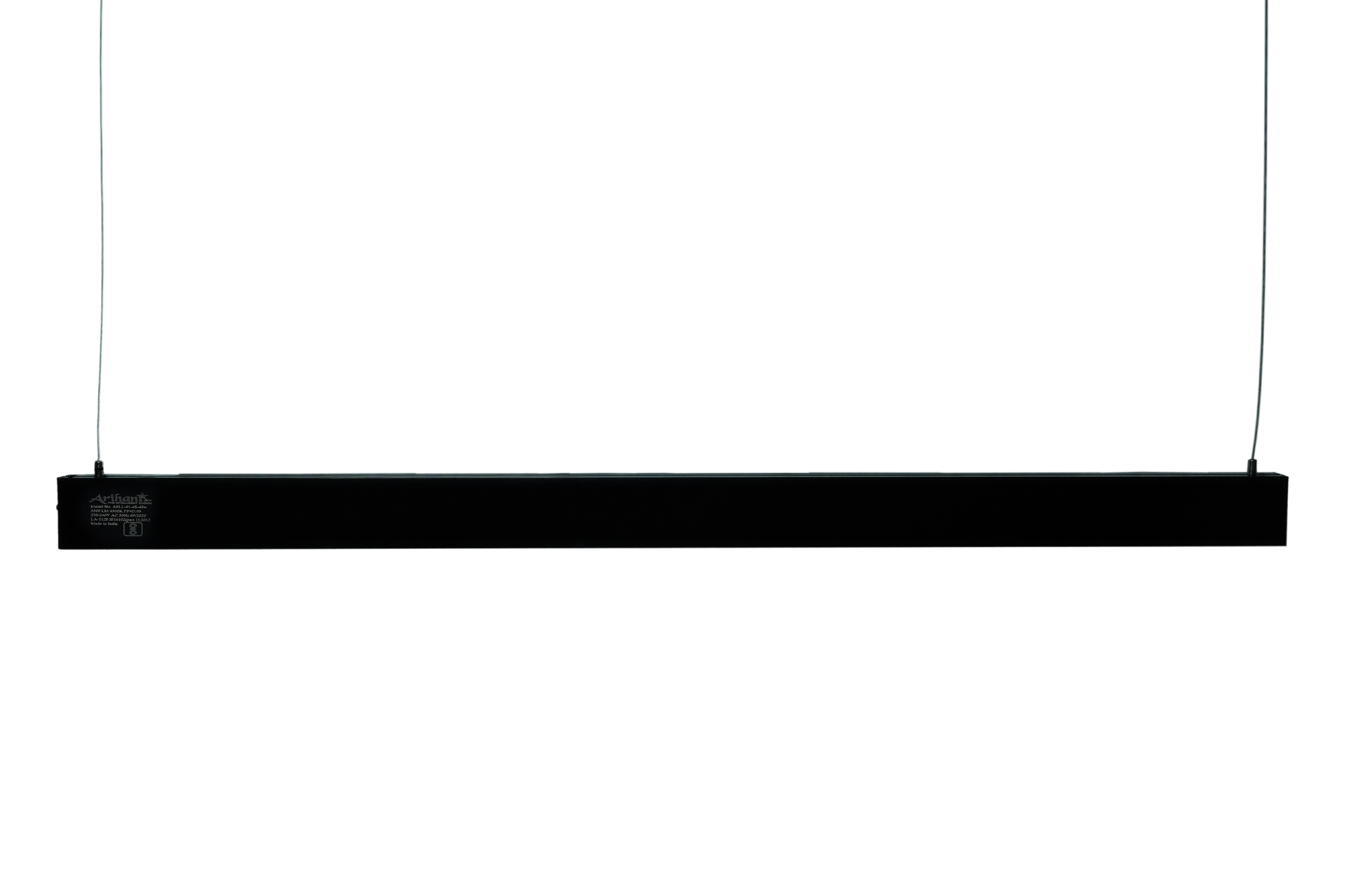 LED Linear Light 2 Feet 24W (Black body)