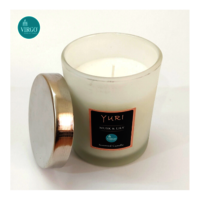 Yuri:scented Wax Candle, Must & Lily