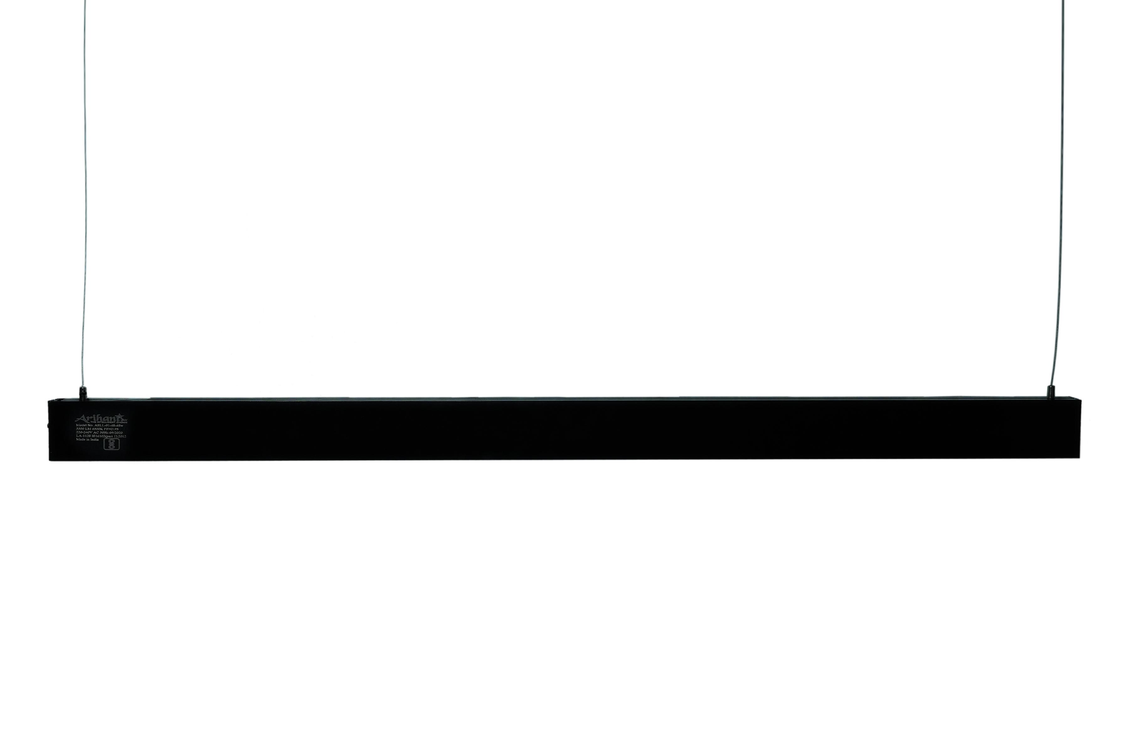 LED Linear Light 4 Feet 48 (Black Body)