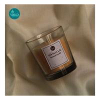 Vanilla:scented Votive, Cream, Vanilla