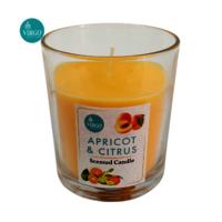 Apricot & Citrus:scented Votive, Orange, Apricot & Citrus
