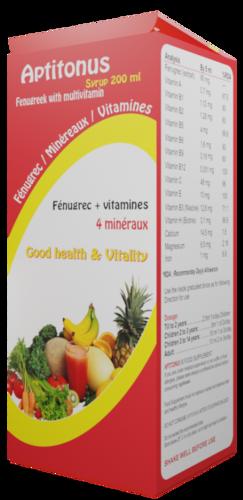 Multivitamin Syrup With Fenugreek