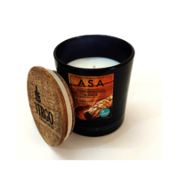 Asa:scented Soy Wax Candle, Sandalwood & Sage