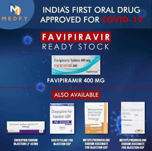 Favi Covid 400 Drug