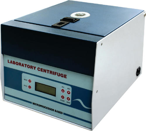 Micro Centrifuge Brushless (without carbons) 2000rpm