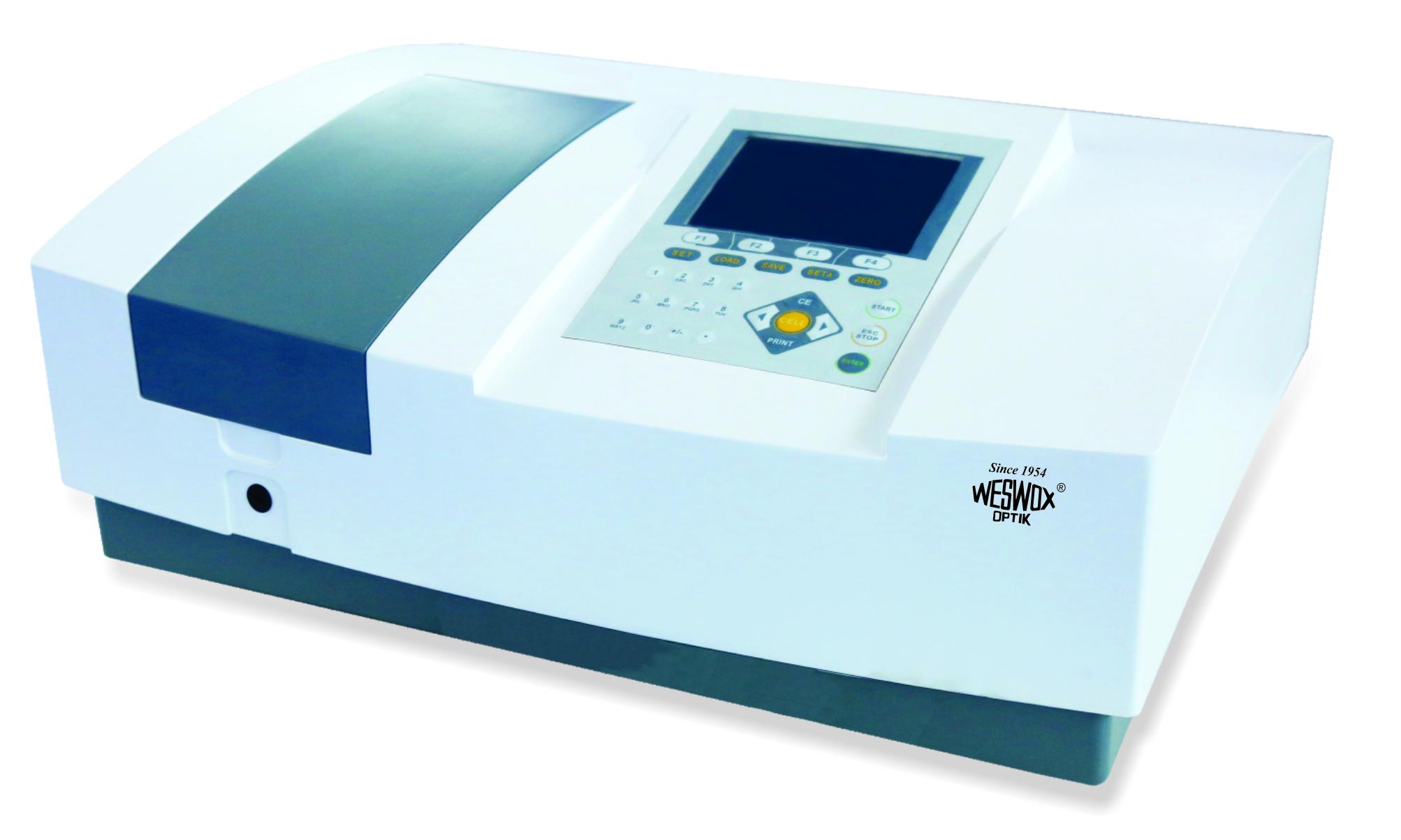Double Beam Microprocessor UV/VIS Spectrophotometer