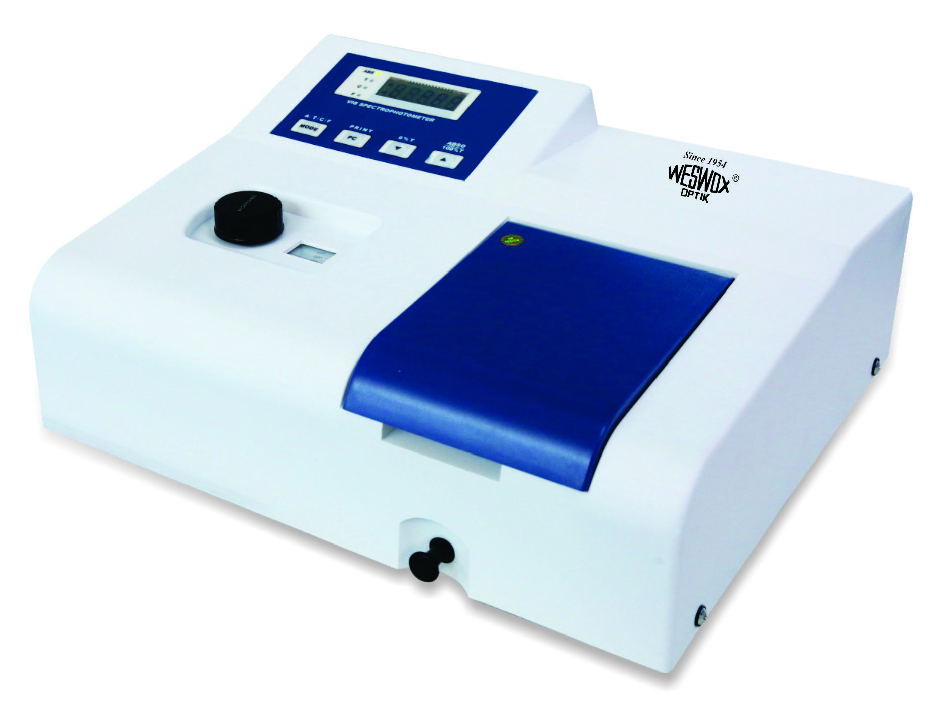 Microprocessor Single Beam Visible Spectrophotometer